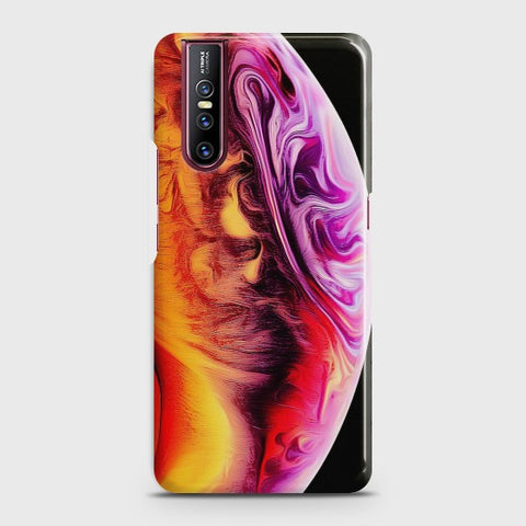 VIVO V15 PRO Texture Colorful Moon Case