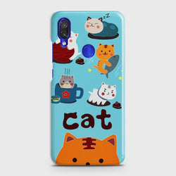 XIAOMI REDMI NOTE 7 PRO Cute Lazy Cats Case