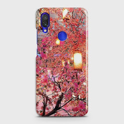 XIAOMI REDMI NOTE 7 PRO Pink blossoms Lanterns Case