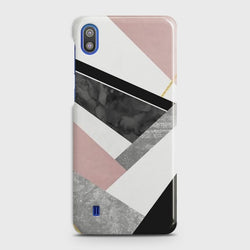 SAMSUNG GALAXY A10 Geometric Luxe Marble Case