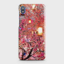 SAMSUNG GALAXY A10 Pink blossoms Lanterns Case