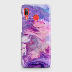 SAMSUNG GALAXY A20 Chic Liquid Marble Case