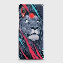 SAMSUNG GALAXY A20 Abstract Animated Lion Case