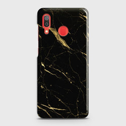 SAMSUNG GALAXY A30 Classic Golden Black Marble Case