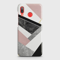 SAMSUNG GALAXY A30 Geometric Luxe Marble Case