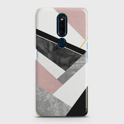 OPPO F11 PRO Geometric Luxe Marble Case
