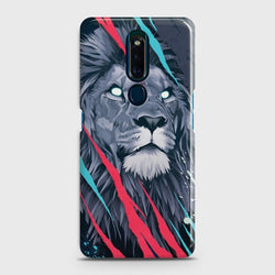 OPPO F11 PRO Abstract Animated Lion Case