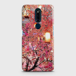 OPPO F11 PRO Pink blossoms Lanterns Case