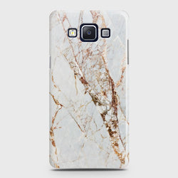 SAMSUNG GALAXY A5 2015 White & Gold Marble Case