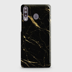 SAMSUNG GALAXY M30 Classic Golden Black Marble Case