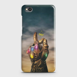 XIAOMI REDMI GO Thanos Snap Marvel Avengers Superhero Case