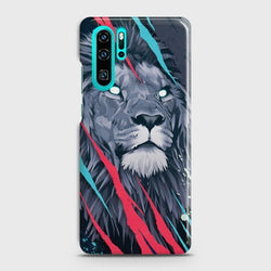 HUAWEI P30 PRO Abstract Animated Lion Case
