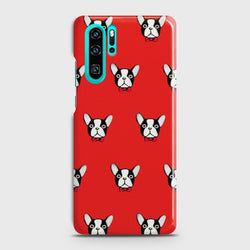 HUAWEI P30 PRO BOSTON TERRIER RED Case
