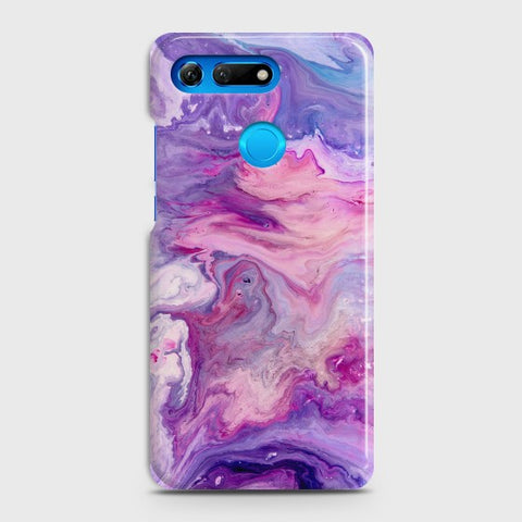 HUAWEI HONOR VIEW 20 Chic Liquid Marble Case