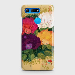 HUAWEI HONOR VIEW 20 Sparkel Flower Eye Candy Case