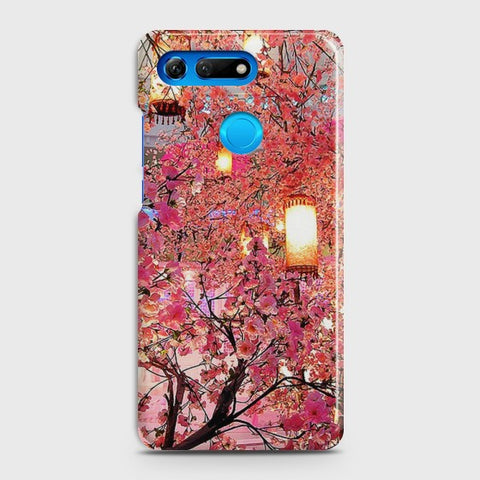 HUAWEI HONOR VIEW 20 Pink blossoms Lanterns Case