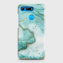 HUAWEI HONOR VIEW 20 Aqua Blue Marble Case
