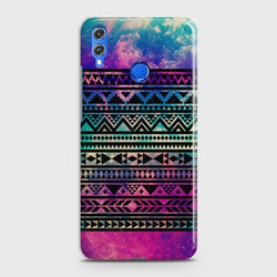 HUAWEI P SMART 2019 Galaxy Aztec Pattern Case