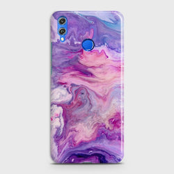 HUAWEI P SMART 2019 Chic Liquid Marble Case
