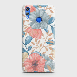 HUAWEI P SMART 2019 Seamless Flower Case