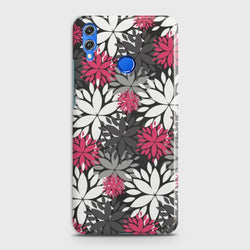 HUAWEI P SMART 2019 Beautiful Flower Pattern Case