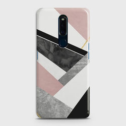 OPPO F11 Geometric Luxe Marble Case