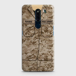 OPPO F11 Army Costume with Name Case
