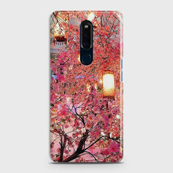 OPPO F11 Pink blossoms Lanterns Case