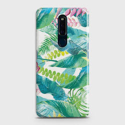 OPPO F11 Retro Palm Leaves Case