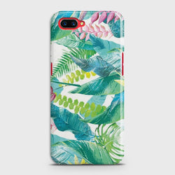 OPPO REALME C1 Retro Palm Leaves Case