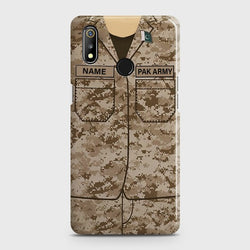 REALME 3 Army Costume Case