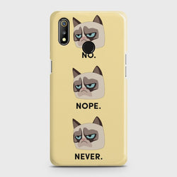 REALME 3 No Never Nopes Case