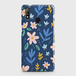 REALME 3 Colorful Flowers Case