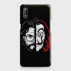 REALME 3 MONEY HEIST PROFESSOR Case