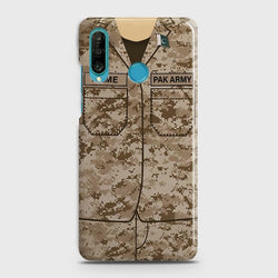 HUAWEI P30 LITE Army Costume with custom Name Case