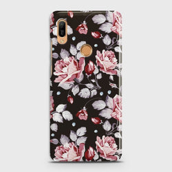 HUAWEI Y6 PRO 2019 Blush Rose Flowers Case