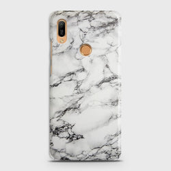 HUAWEI Y6 PRO 2019 Trendy White Marble Case