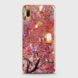 HUAWEI Y6 (2019) Pink blossoms Lanterns Case