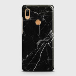 HUAWEI Y6 PRO 2019 Black Classic Marble Case