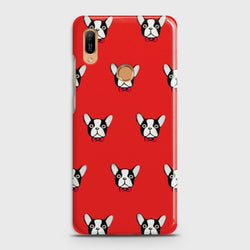 HUAWEI Y6 PRIME 2019 BOSTON TERRIER RED Case