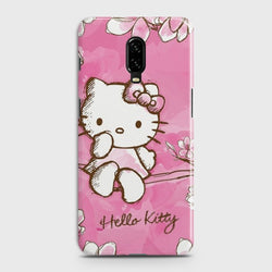OnePlus 7 Hello Kitty Cherry Blossom Customized Case Buy in Pakistan