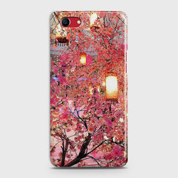 OPPO A1K Pink blossoms Lanterns Case