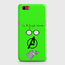OPPO A1K I am a simple woman Case