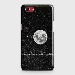 OPPO A1K Only told the moon Case