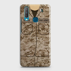 VIVO Y17 Army Costume with custom name Case