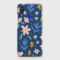 XIAOMI REDMI 7 Colorful Flowers Customized Case