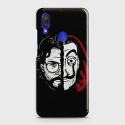 XIAOMI REDMI 7 MONEY HEIST PROFESSOR Customized Case