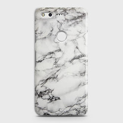 GOOGLE PIXEL XL Trendy White Marble Case