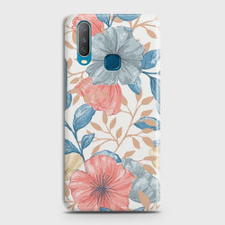 VIVO Y15 Seamless Flower Case
