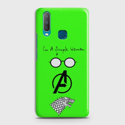 VIVO Y15 I am a simple woman Case